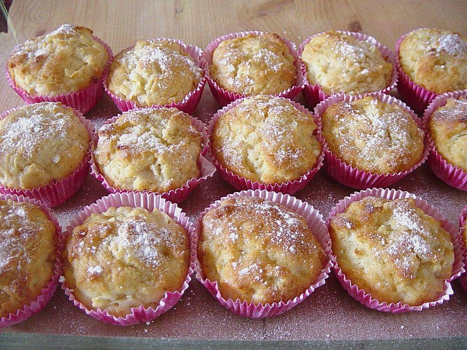 Apfel - Quark - Muffins | Quark, Chefkoch und Muffins