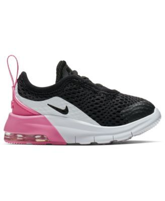 3cf160f7a3be1 Nike Toddler Girls  Air Max Motion 2 Casual Sneakers from Finish Line -  Black 10