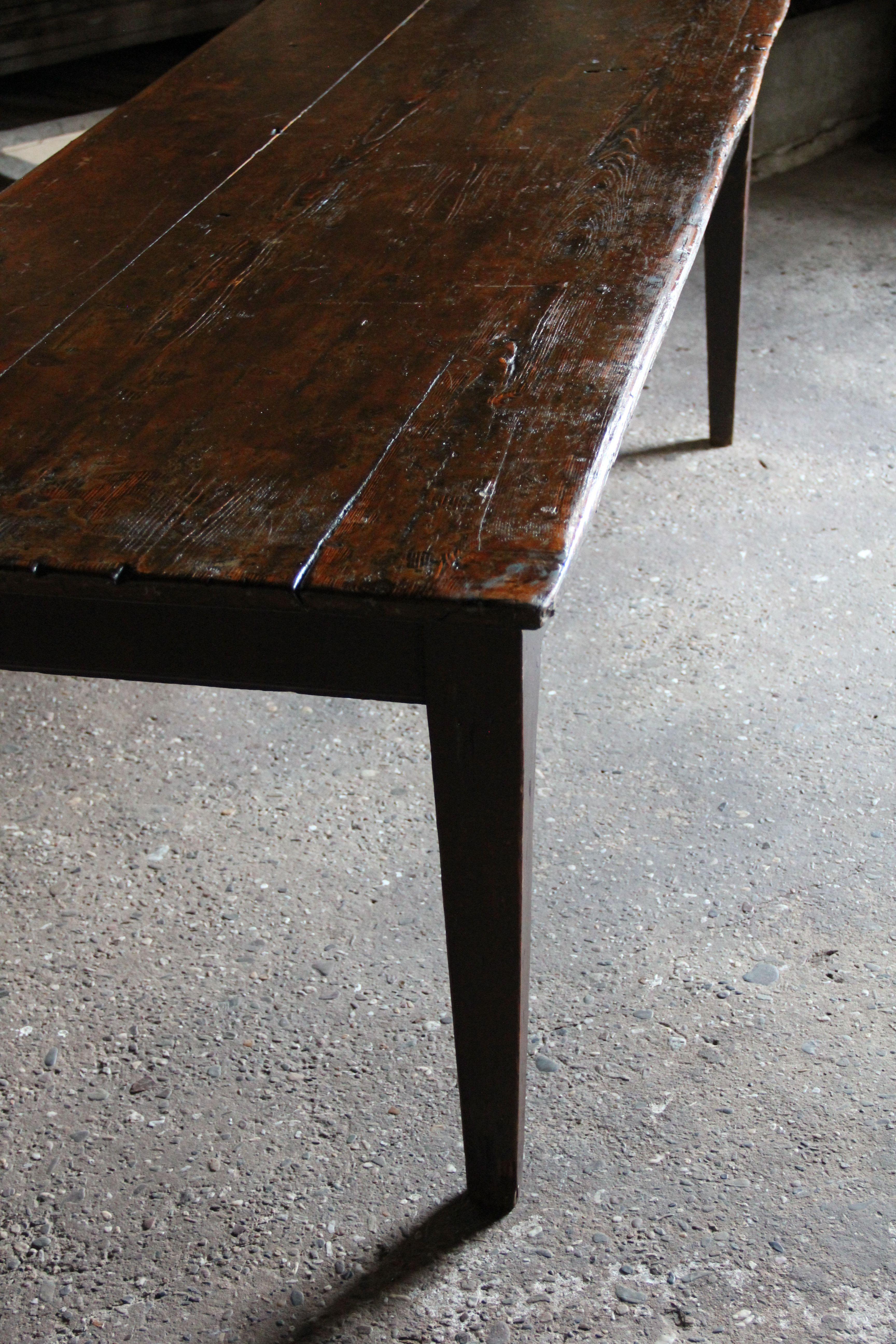 Antieke Teakhouten Eettafel.Franse Houten Antieke Eettafel Inndoors Meubelen En Interieur