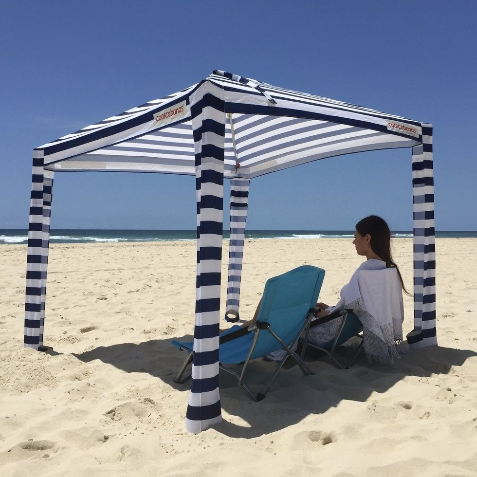 Taking Baby To The Beach 16 Must Have Products With Images Beach Cabana Beach Shade Beach Tent