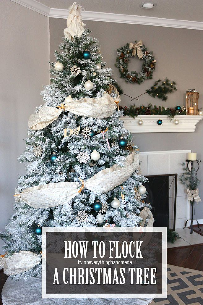 How To Make A Fake Christmas Tree Look Expensive Fake Christmas Trees Christmas Tree Flocked Christmas Trees