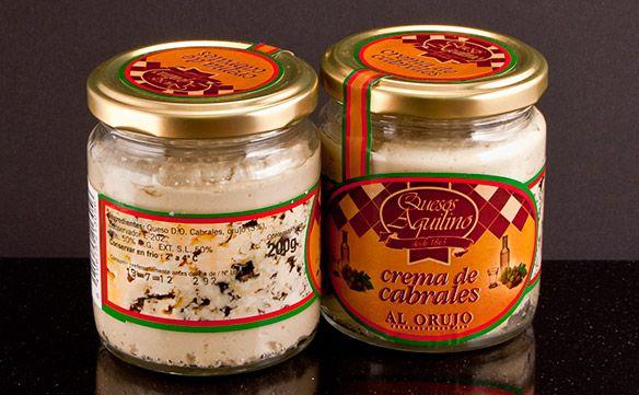 Cabrales Cream Cheese With Orujo Liquor Con Imagenes Cremas