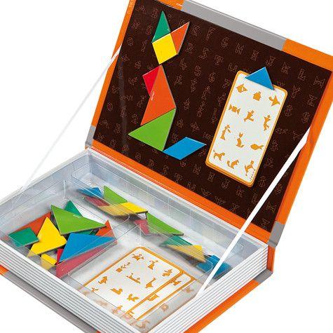 Racó de matemàtiques: idea per capsa de tangram