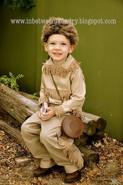 New Sew Davey Crockett costume! Super CUTE! Halloween Pinterest