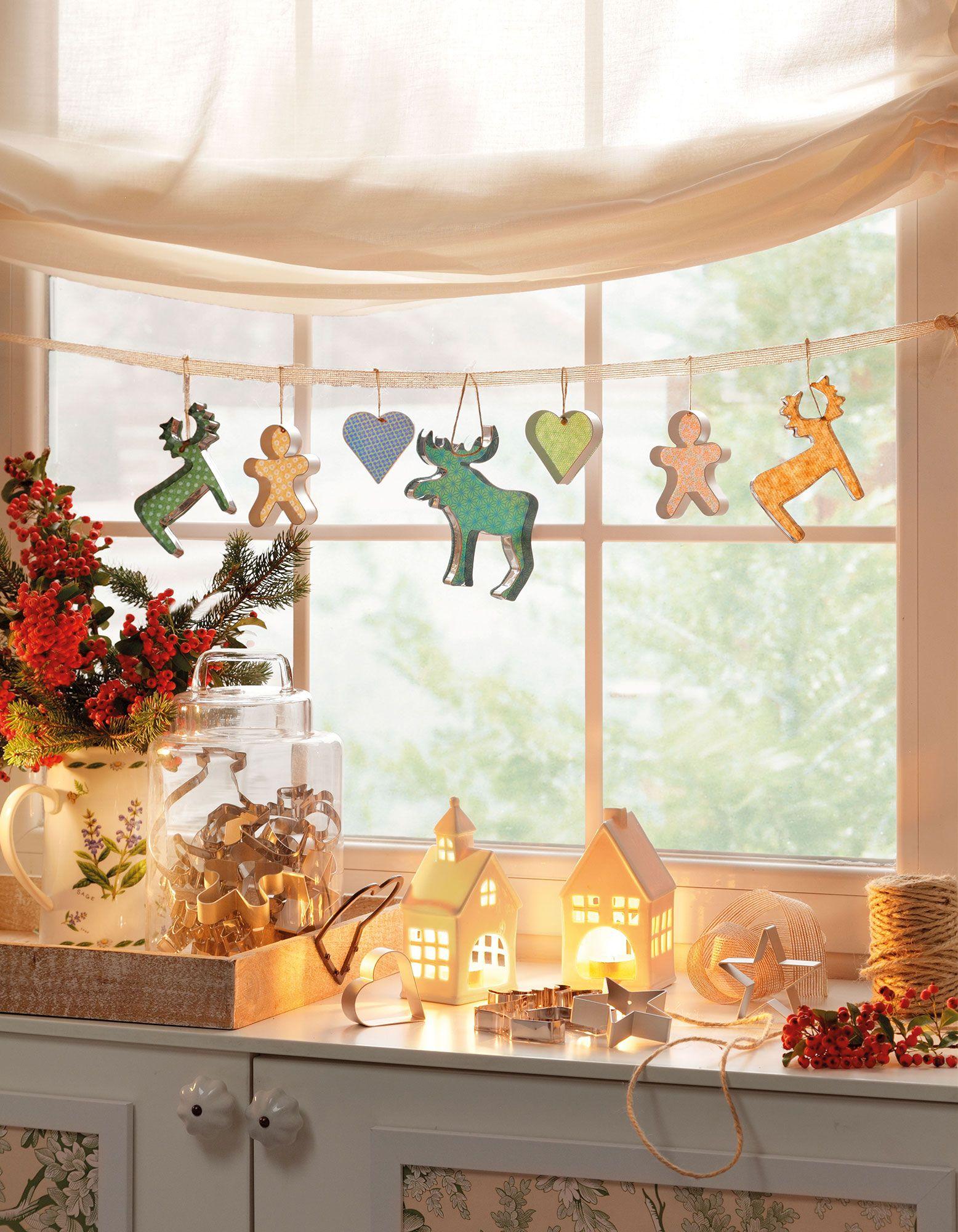 15 ideas para decorar de navidad un piso peque o navidad for Decorar piso navidad