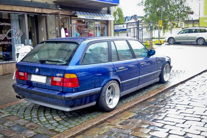 Wagon Wednesday 1994 Bmw E34 M5 Touring Nurburgring Edition With