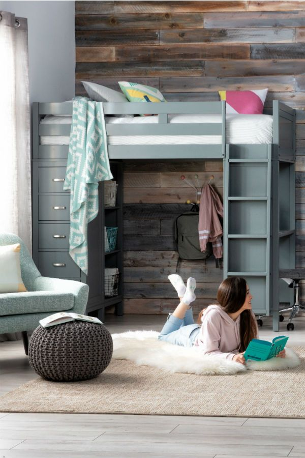 Loft Beds For Kids Teens Full Of Storage And Hidden Study Space