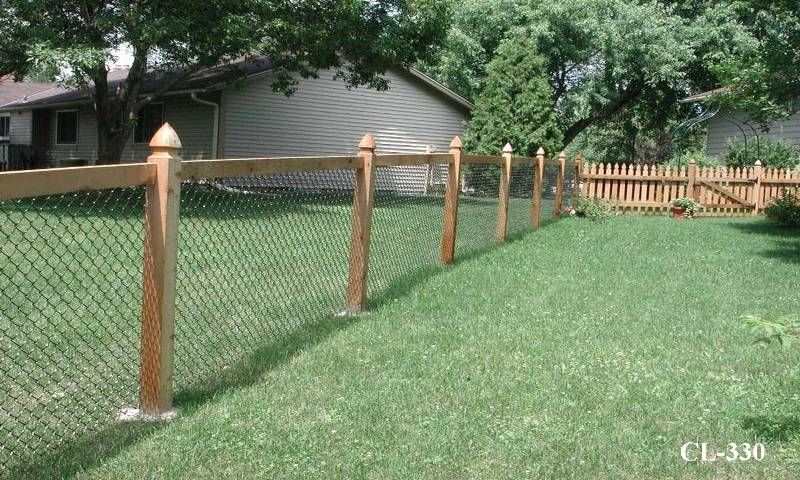 Unique fencing ideas style chain link fences for Better homes and gardens fence ideas