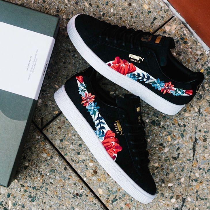 Puma shoes women, Puma suede