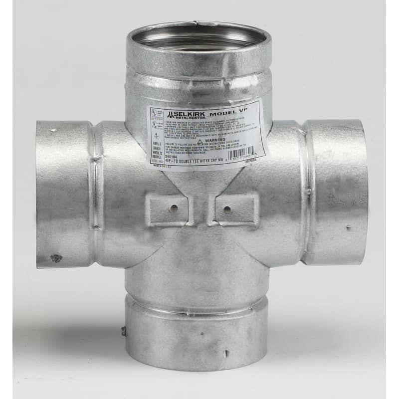 Metalbest 3vp Td Fireplace Accessories Pipes Tees