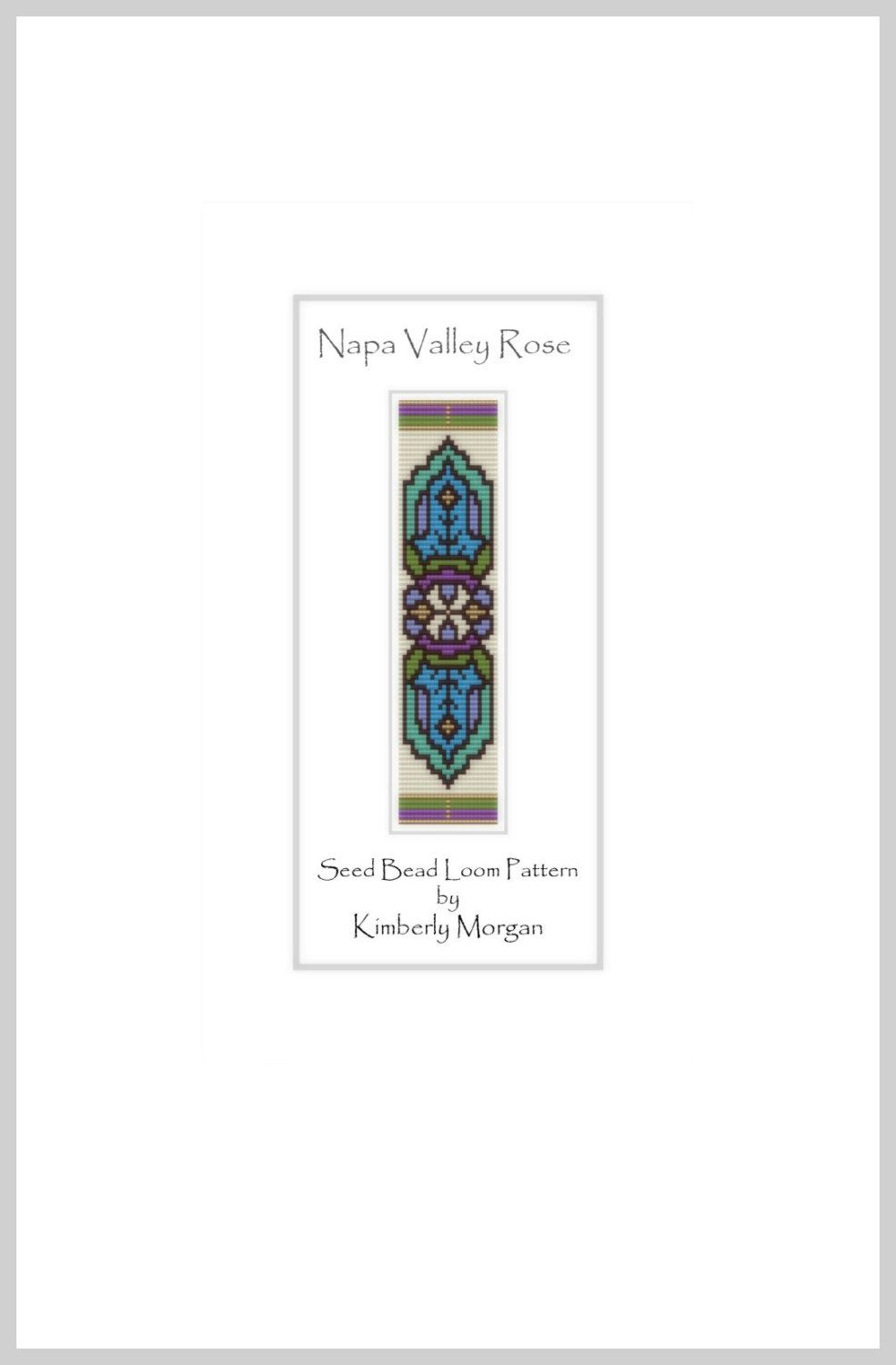 The Napa Valley Rose PDF contains labeled color graphs and