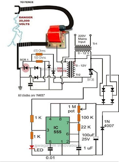 electric fence circuit diagram diy in ceiling speaker wiring intelligent fencing systems arduino 2019 electronics