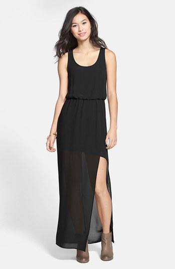 Black lush dress