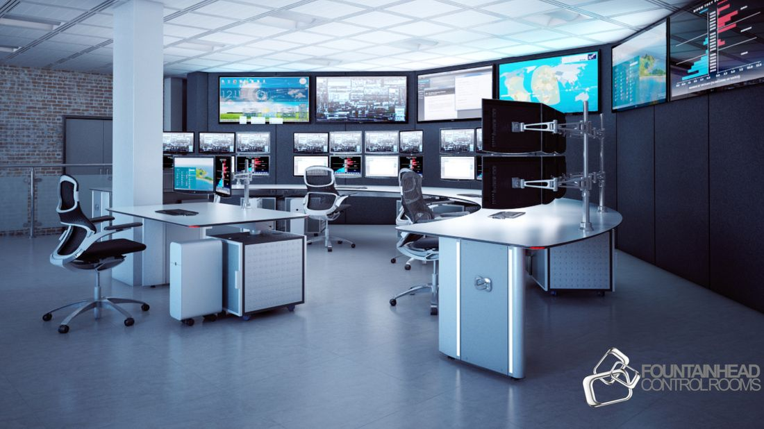 Control Room Design | Control Room Console Furniture