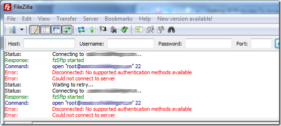 Sftp Access To Amazon Ec2 Using Filezilla No Response Blog Amazon