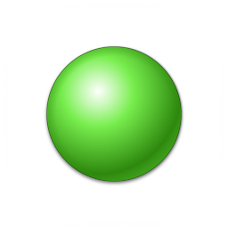 Bullet Ball Green Icon 256x256 V Collection Ball Growth Hacking Marketing