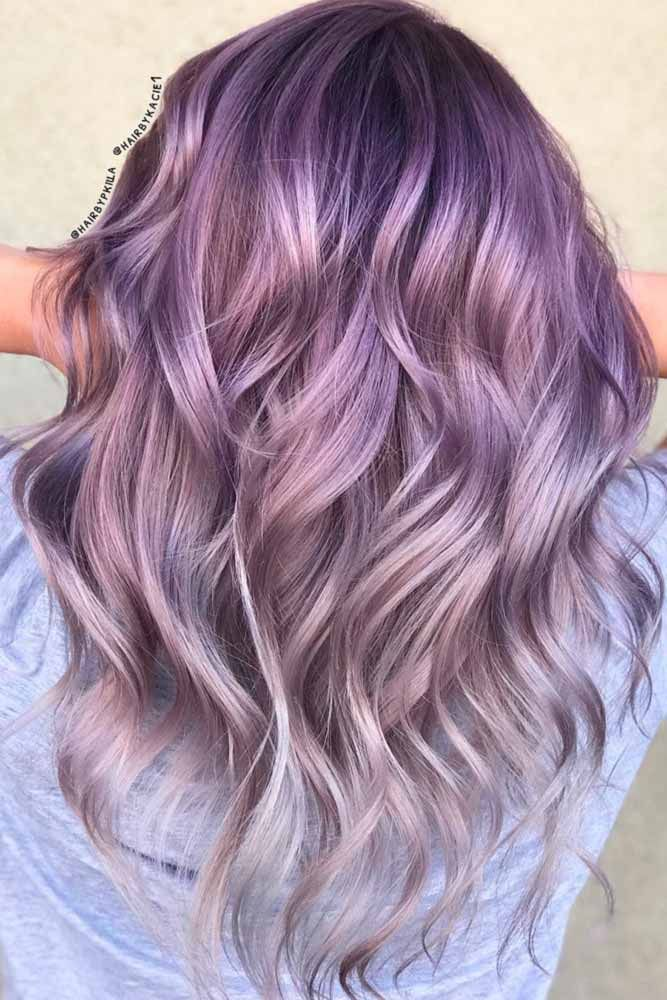 hot geode hair color styles