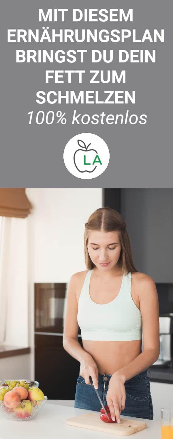 Kostenloser Ernährungsplan zum Abnehmen - effektiver Diätplan #healthyeating