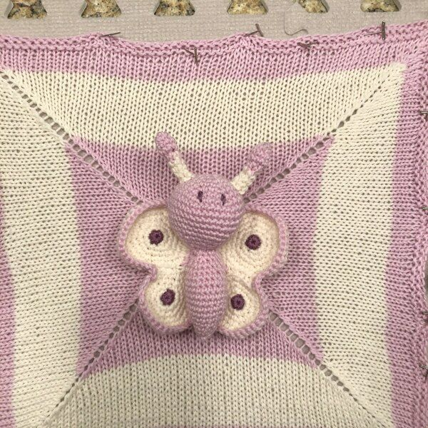 MORE Mini Lovey Blankie Menagerie Knitting pattern by Rainebo
