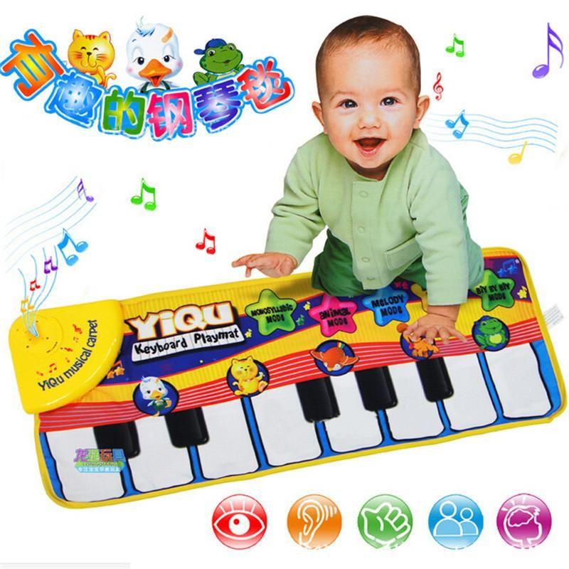 Baby Music Mat Educational Piano Music Plat Mat 72 29cm Kids