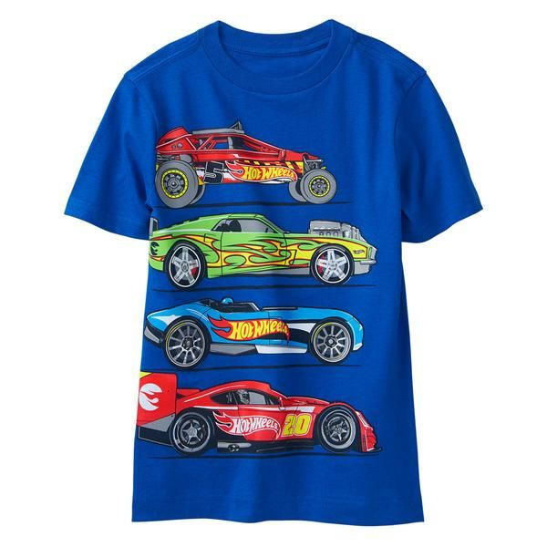 619dd30d0 Boy True Blue Hot Wheels Race Tee by Gymboree | Boy's Clothes | Mens ...