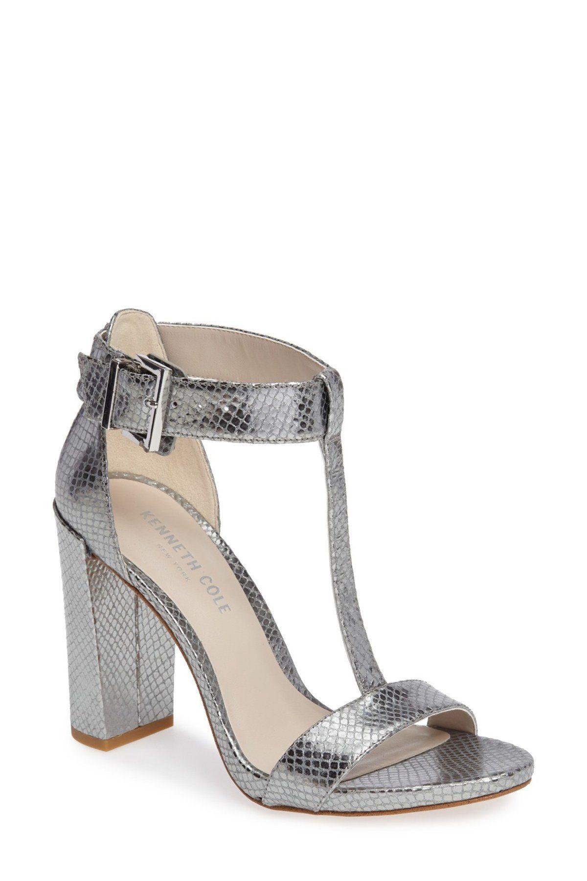 11e266af7058 Daisy Snake Embossed T-Strap Sandal