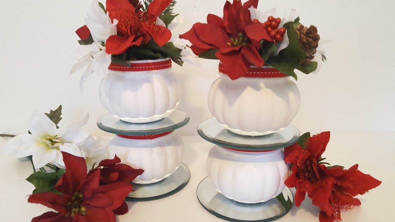 DIY Dollar Tree Crafts Christmas Centerpiece YouTube
