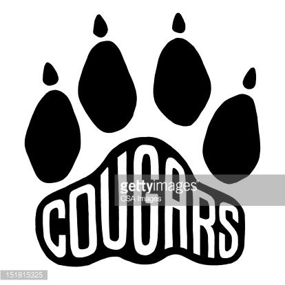 Paw prints cougar paw print clip art clipart 2 - WikiClipArt
