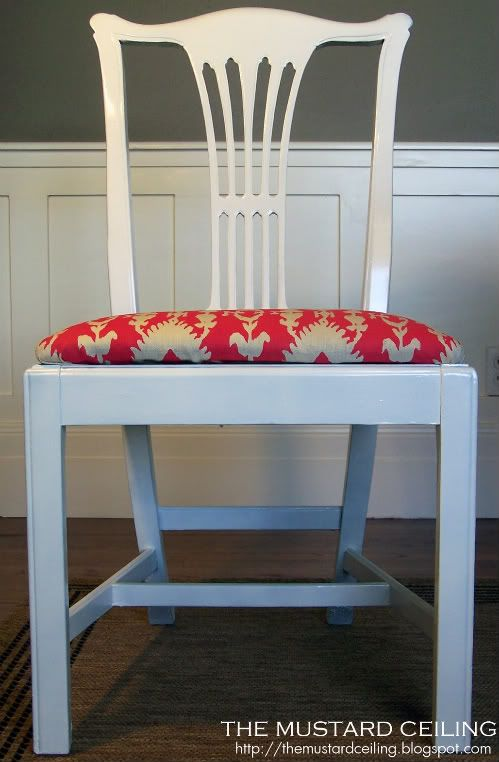 Reupholstering Dining Room Chairs {Dining Chairs} | White ...