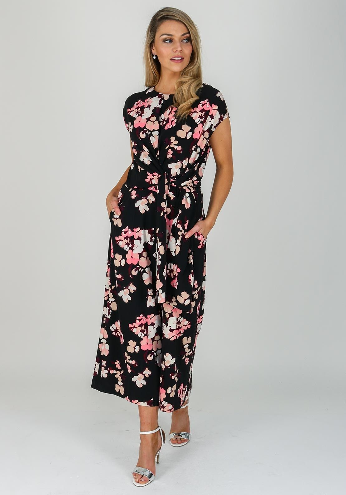 026381156304 Inwear Zhen Floral Wide Leg Jumpsuit