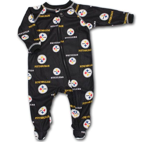 5167aa24b Steelers Baby Sleeper - need this for when she gets here in December ...