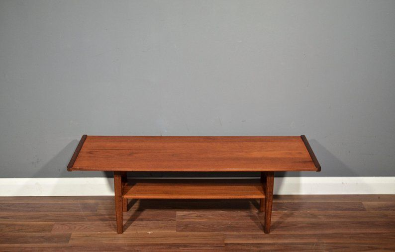 Fantastic Vintage Midcentury Myer Two Tier Teak Coffee Table Etsy Coffee Table Teak Coffee Table Table