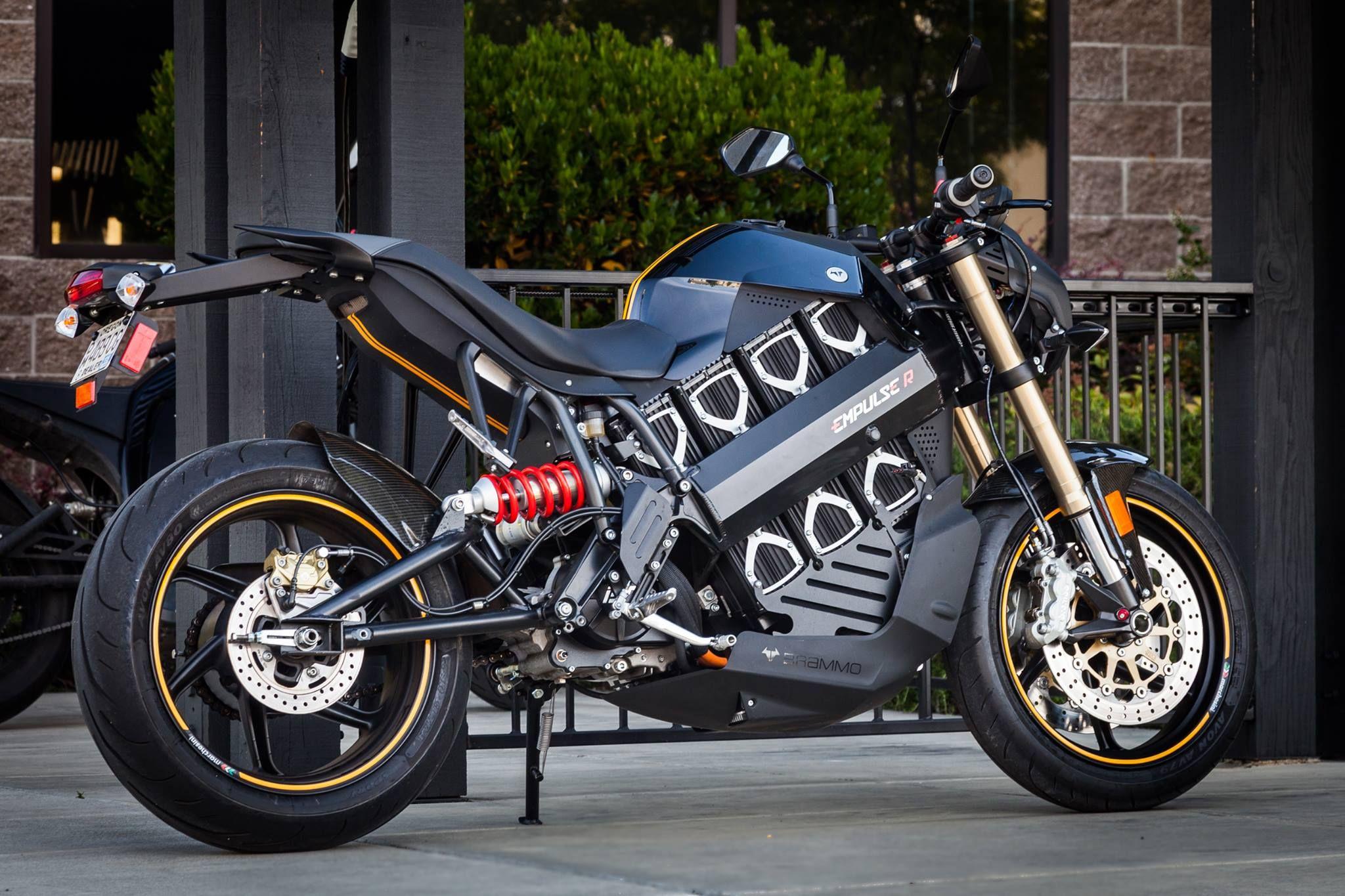 Brammo Empulse R Electric Motorcycle Motorcycle Electric Motorbike
