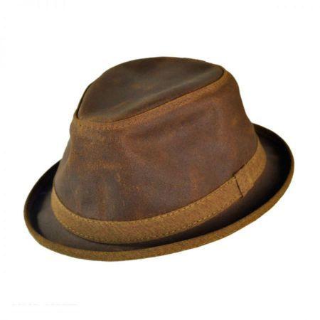 Soho Crushable Fedora Hat available at  VillageHatShop 7688ebc34e4