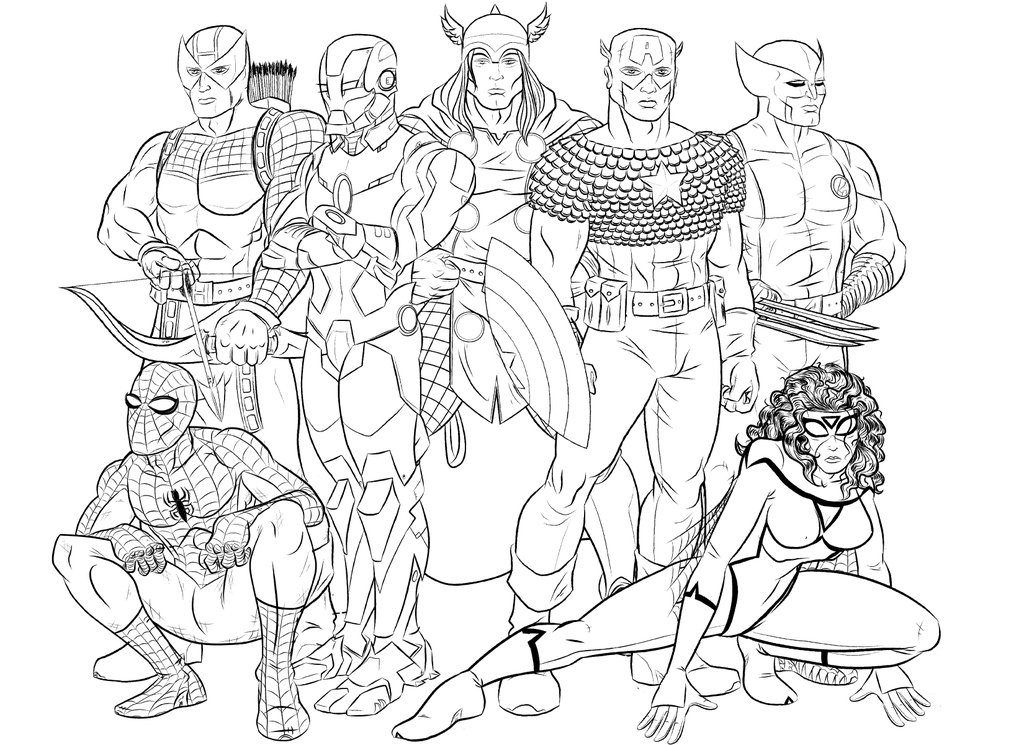 Avengers Coloring Pages Best Coloring Pages For Kids Avengers Coloring Pages Avengers Coloring Superhero Coloring Pages