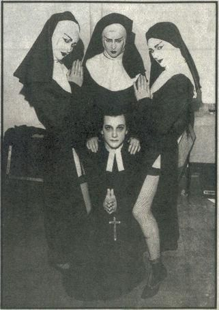 Dave Vanian and support 'nuns' on tour with The Damned | the damned