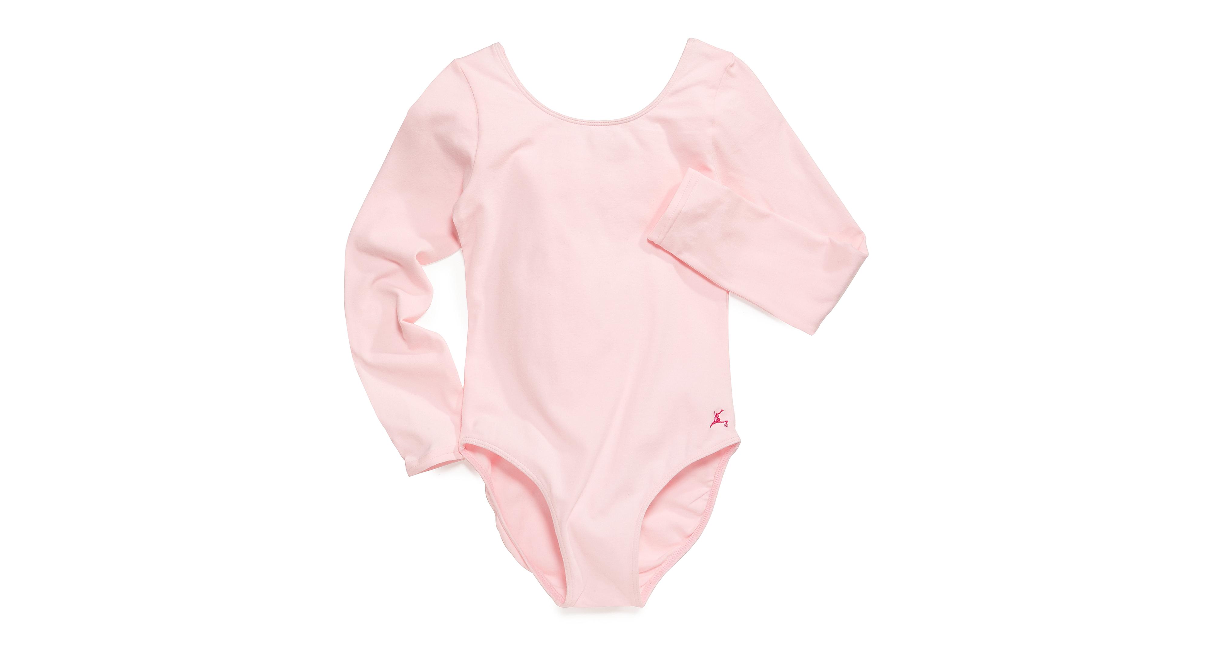 Future Star by Capezio Girls' or Little Girls' Basic Long-Sleeve Leotard