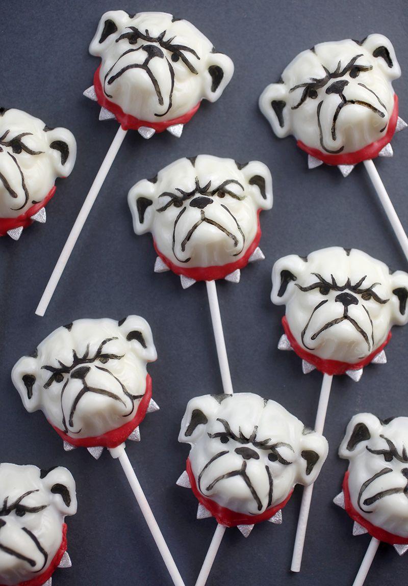 Cake Edible Decorations Bulldog Georgia