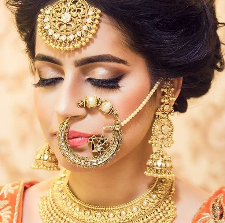 1000 Ideas About Indian Bridal Jewelry Sets On Pinterest: Beautiful Bride By Shubh31gill (Instagram)