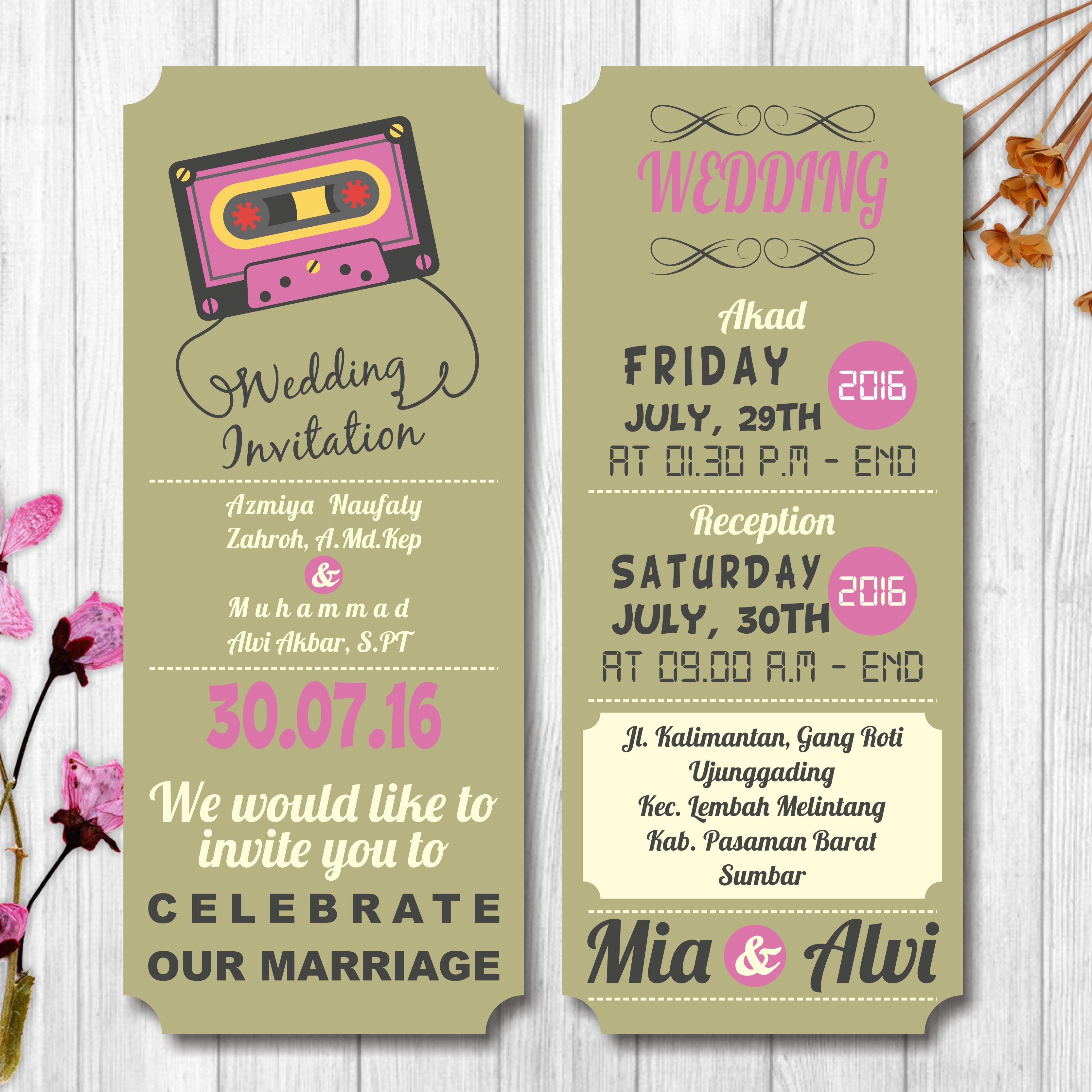 Online wedding invitation, e-invitation, wedding inviation | Wedding ...