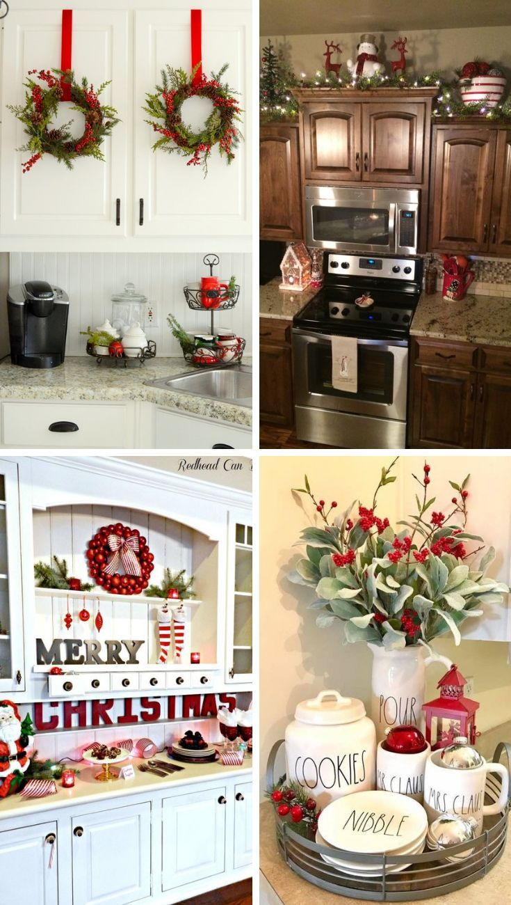 i love these christmas kitchen decorations and ideas christmaskitchen christmaskitch on kitchen xmas decor id=28209