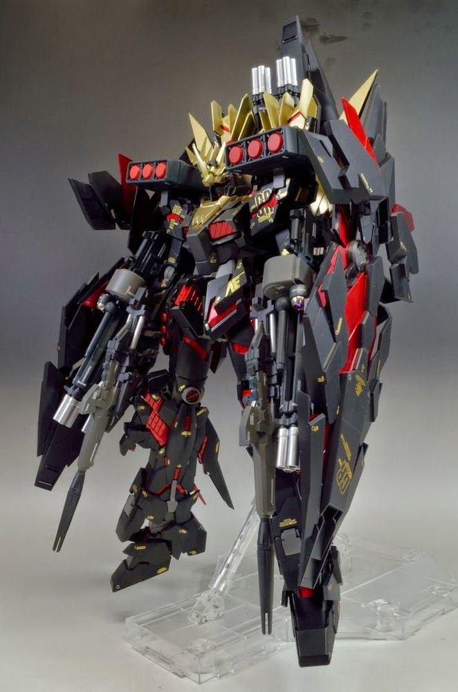 Mg 1 100 Banshee Heavy Weapon Gundam Pinterest Gundam