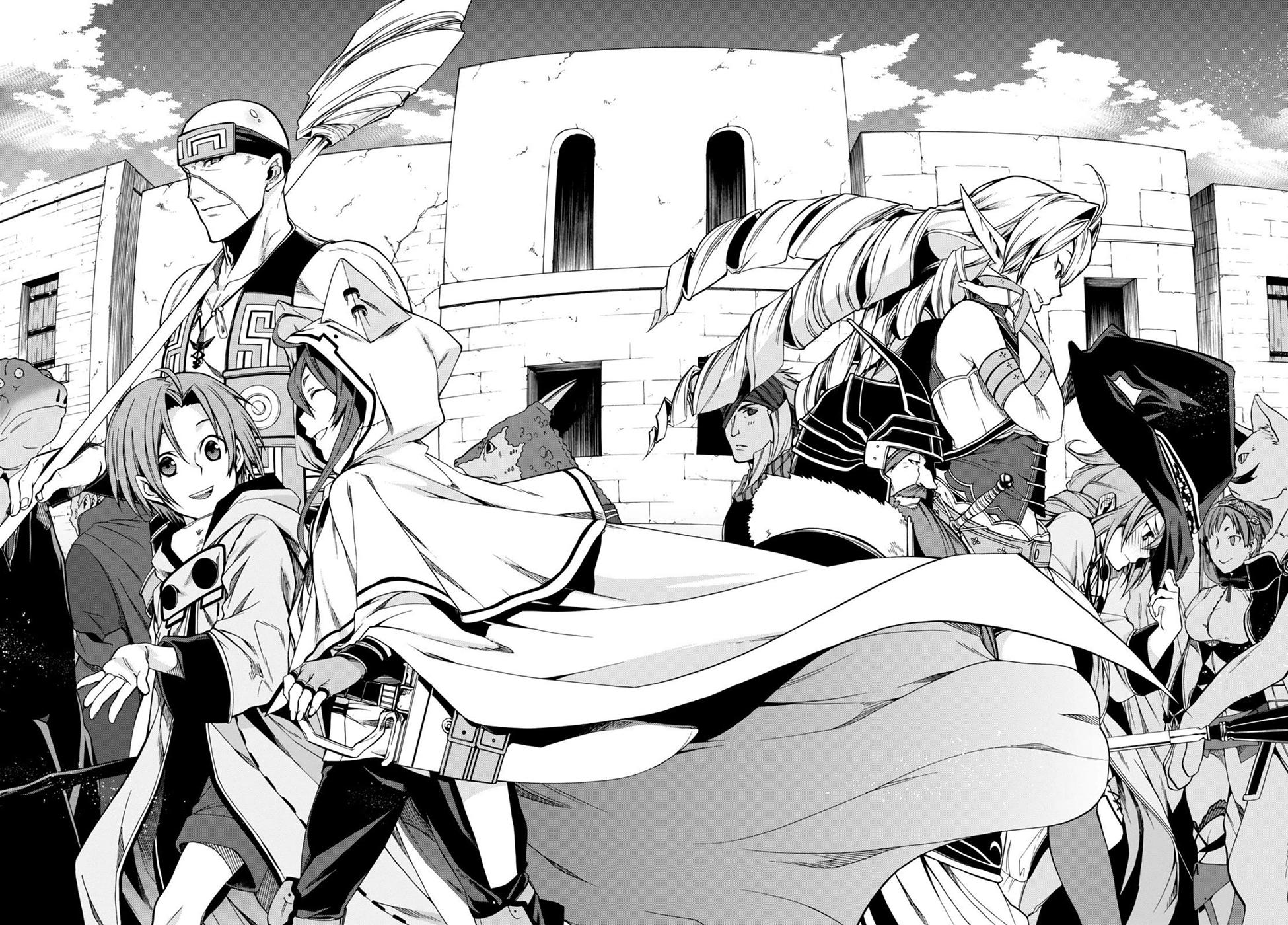 Read manga Mushoku Tensei Isekai Ittara Honki Dasu Vol