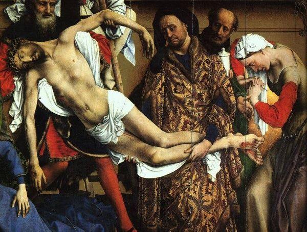 El Greco El Descendimiento De La Cruz Detalle Museo Del Prado Museos Grecas Museo De El Prado