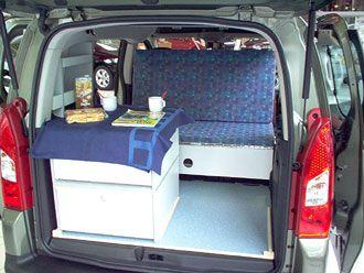 C Tech Campingvan Minicamper Citroen Berlingo