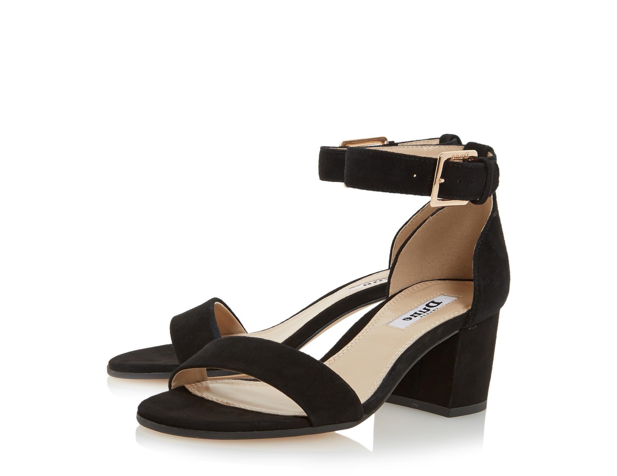 0818b82b0fe9 DUNE LADIES JAYGO - Two Part Block Heel Sandal - black