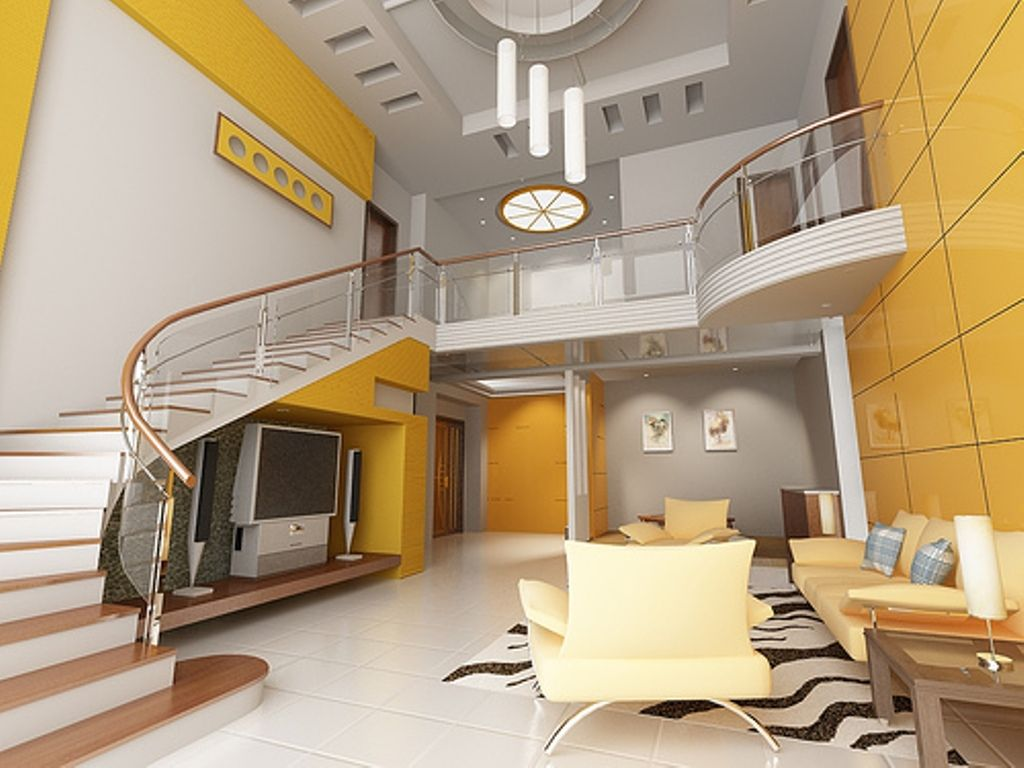 Yellow colour design your home decoration Home Improvement Tips