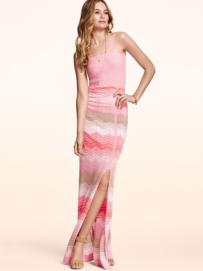 Strapless Maxi Dress - Recieve CashBack by Shopping thru www.Shop.com/savesavy.