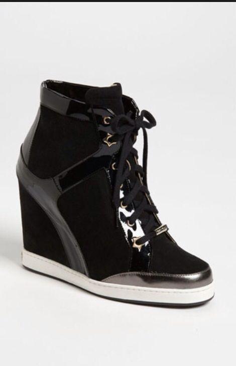 b9cc37d970a1 Jimmy Choo sneaker heel