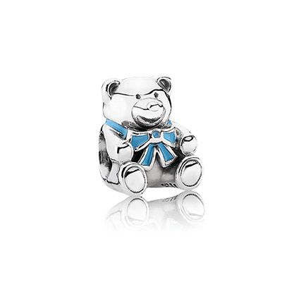 Pandora It S A Boy Blue Enamel Pandora Baby Charms